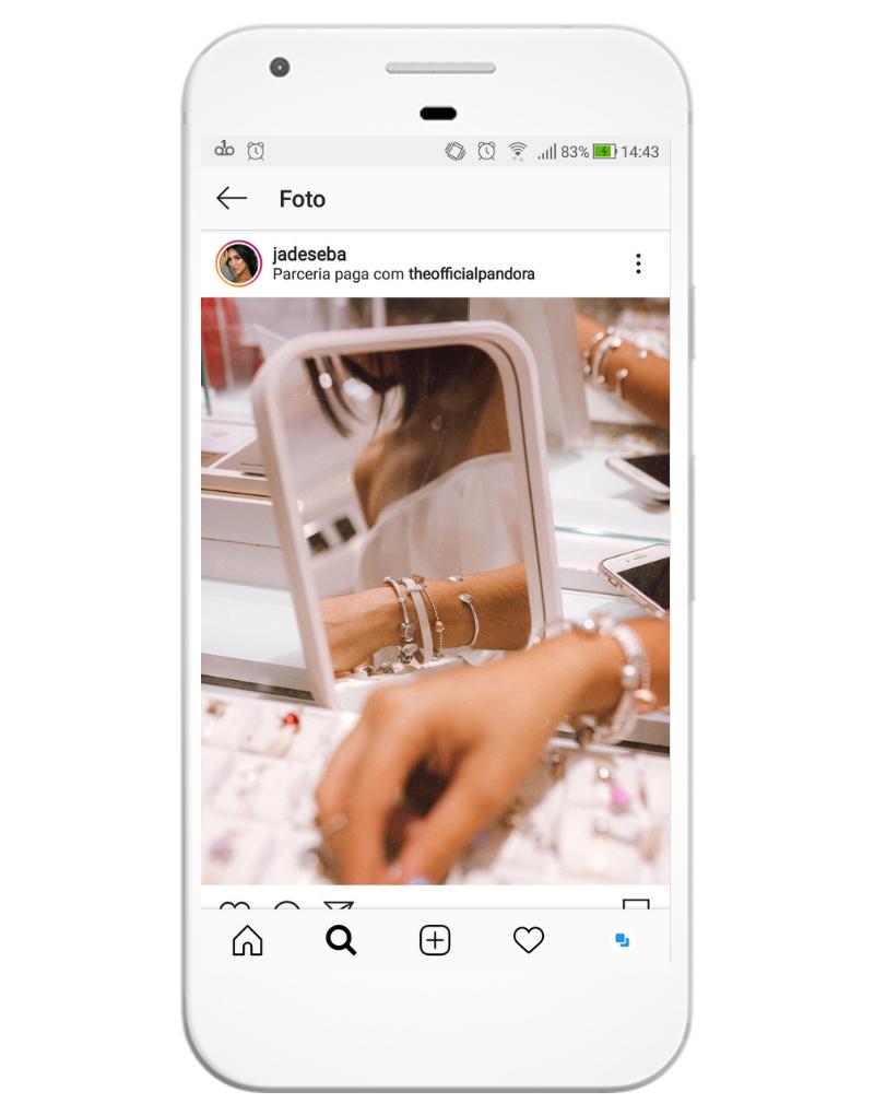 Botão parceria paga está disponível para Instagram for Business