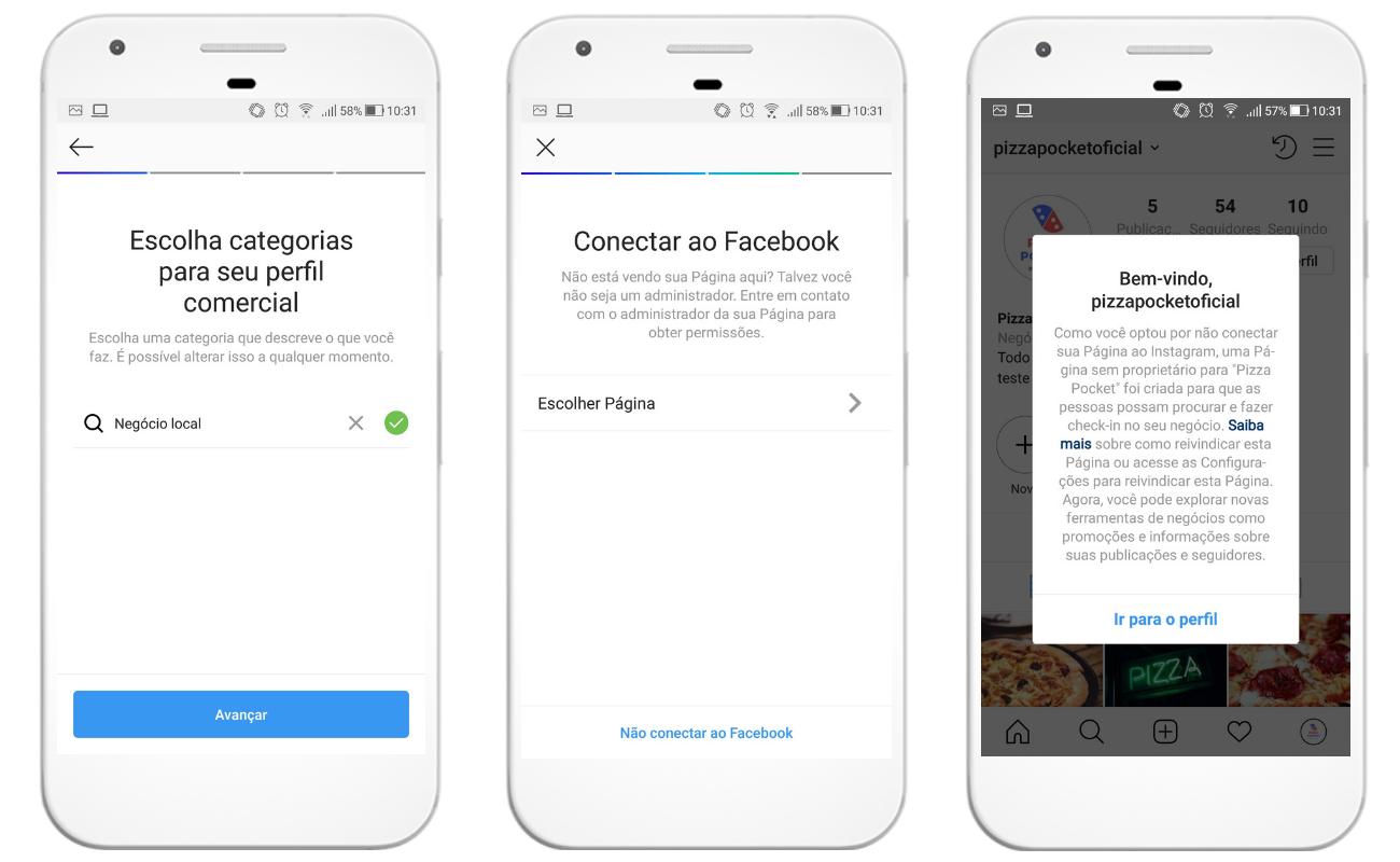 Como criar uma conta comercial no Instagram for Business