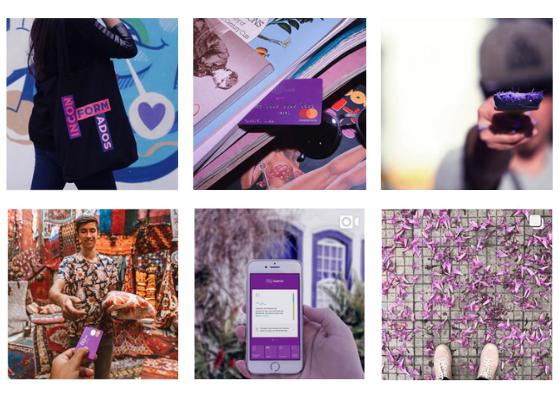 Nubank: exemplo de como ter um feed organizado no Instagram