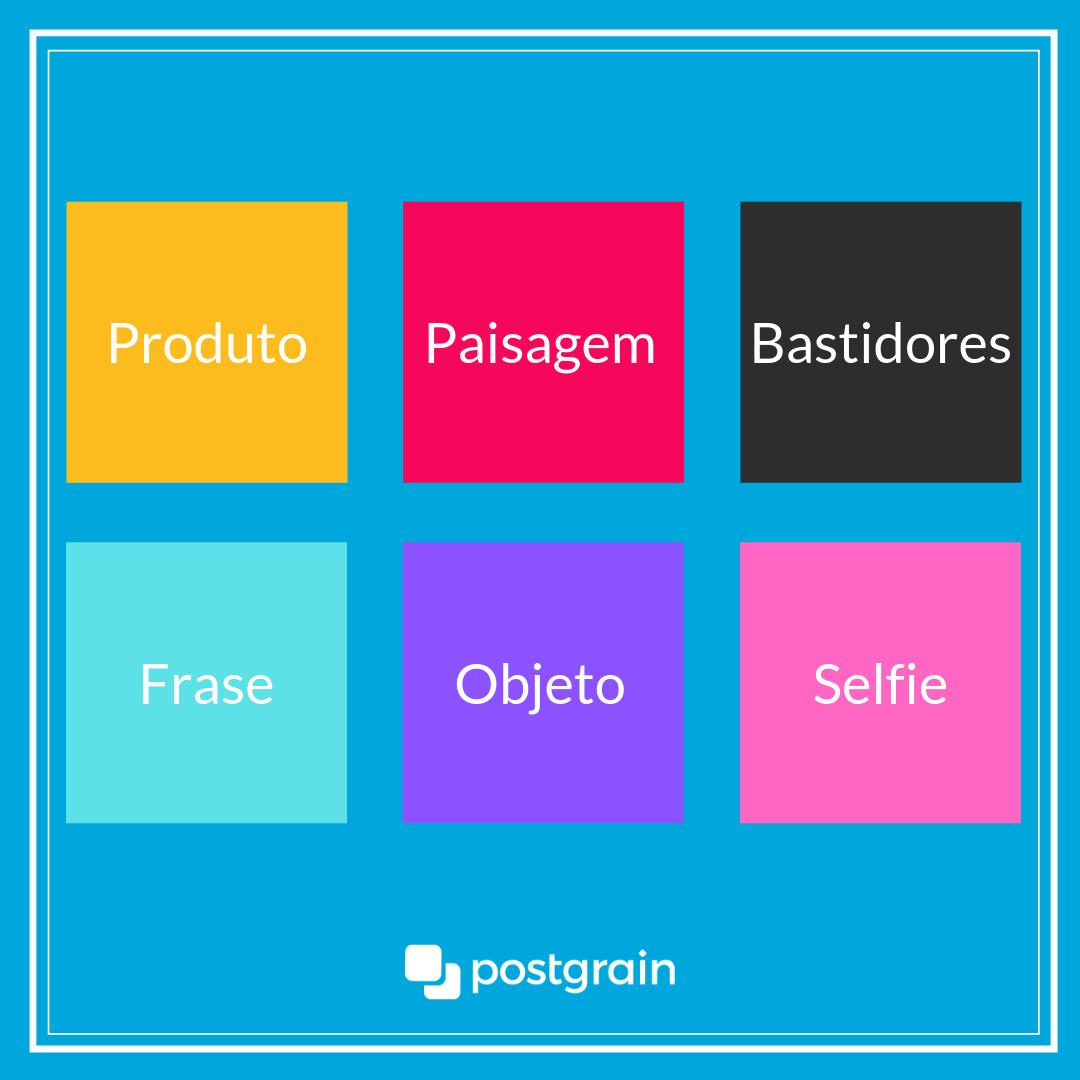Criar uma linha de produções vai te ajudar a manter o feed organizado