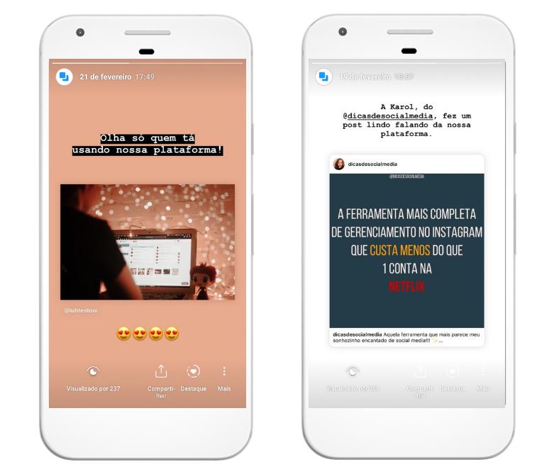 Quando algum usuário te marca, o algoritmo do Instagram automaticamente vê que seu conteúdo é importante pra ele