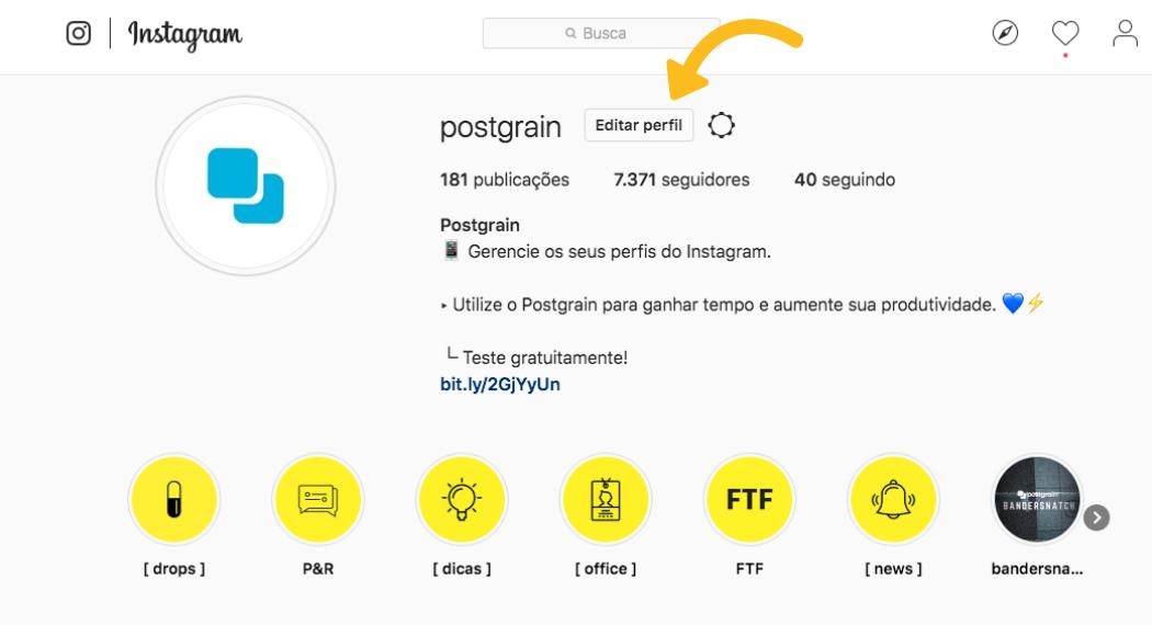 Como revogar acesso de aplicativos no Instagram