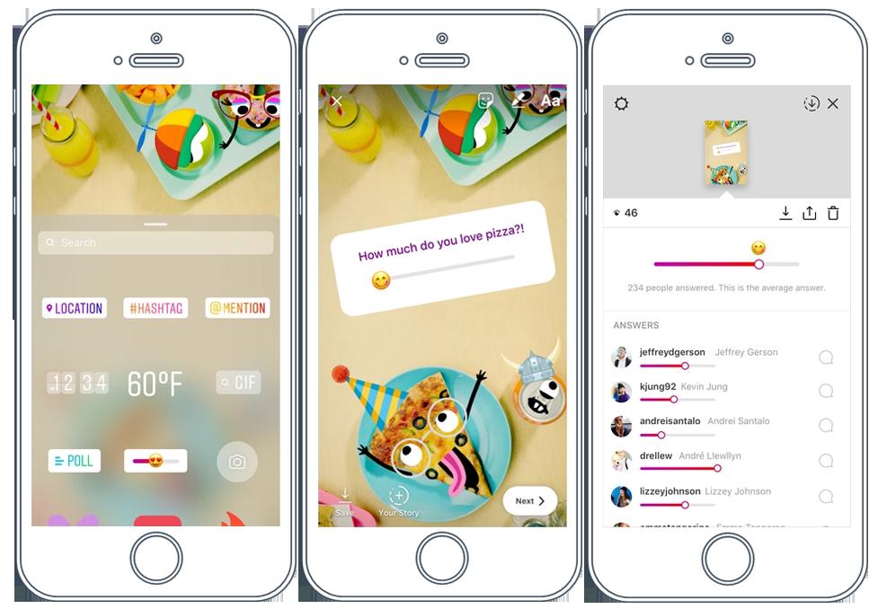 novidades-do-instagram-emoji-slider-stories-instagram-postgrain