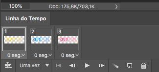Como criar GIFs usando o photoshop