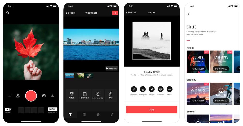 Vue: aplicativo para gravar vídeos para o IGTV