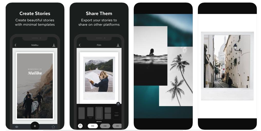 Unfold: aplicativo para produzir vídeos para o IGTV