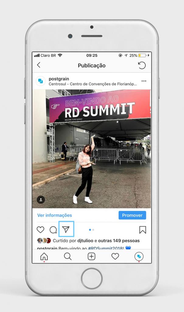 Como usar as mensagens diretas do Instagram ao seu favor 3