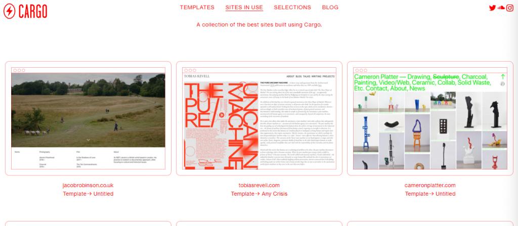 Sites gratuitos pra criar um portfólio online