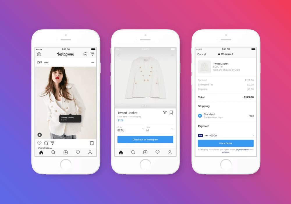 A Zara é uma das marcas que já tem acesso ao Instagram Checkout